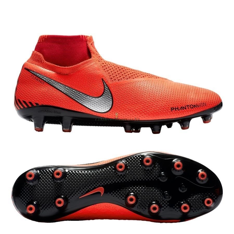 2019 Nouveaux Nike Phantom Vision Elite DF AG PRO Game Over Orange Qualité 100%