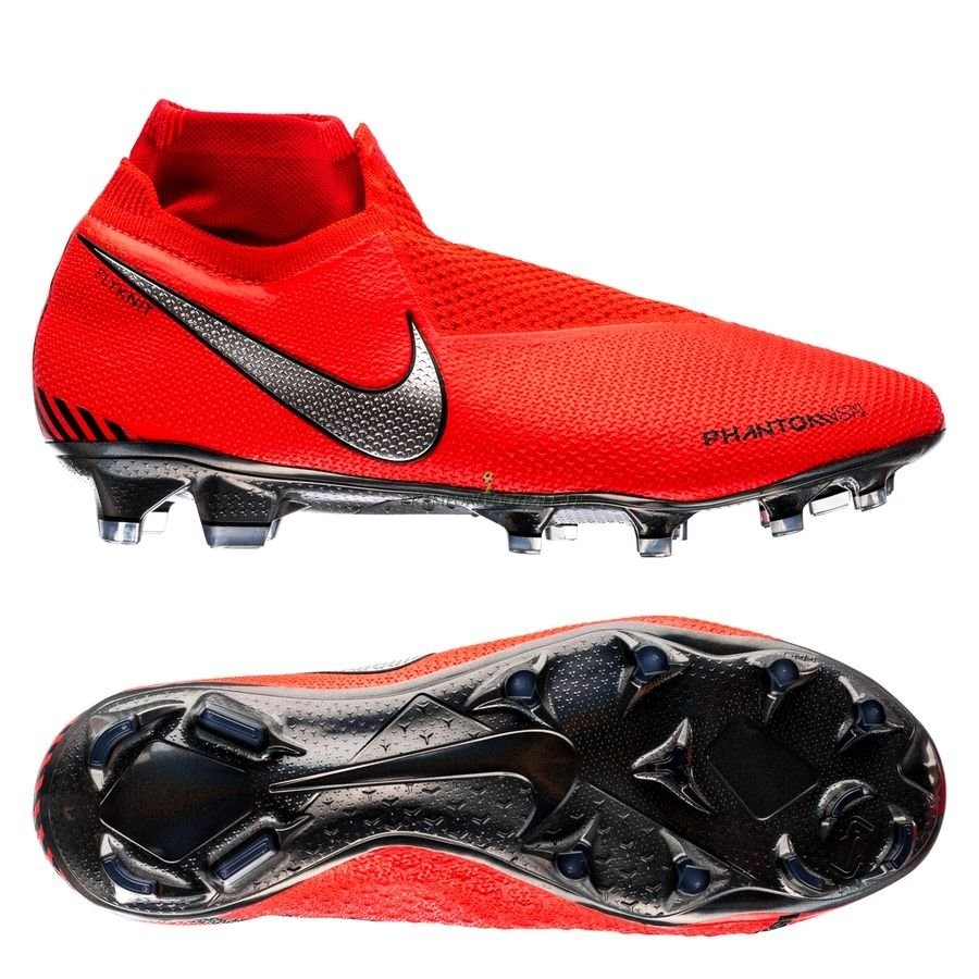 2019 Nouveaux Nike Phantom Vision Elite DF FG Game Over Rouge Qualité 100%