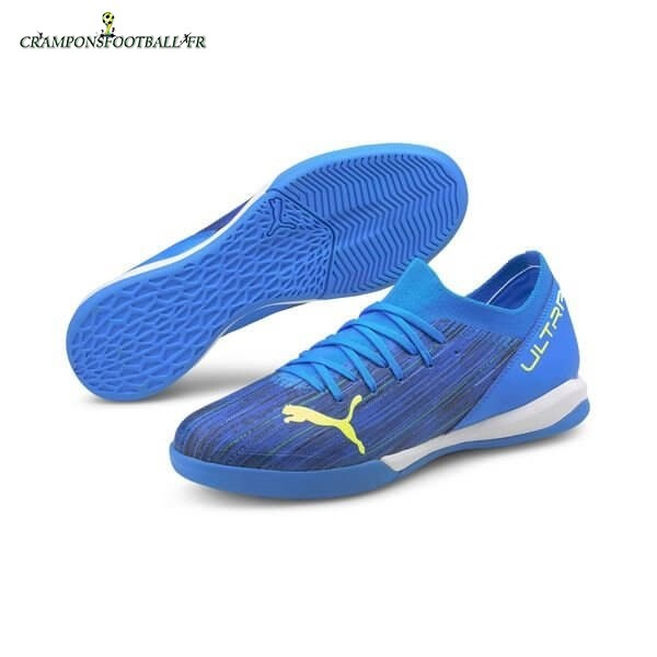 2020 Nouveaux Puma Ultra 3.2 IT Speed of Light Bleu Jaune Qualité 100%